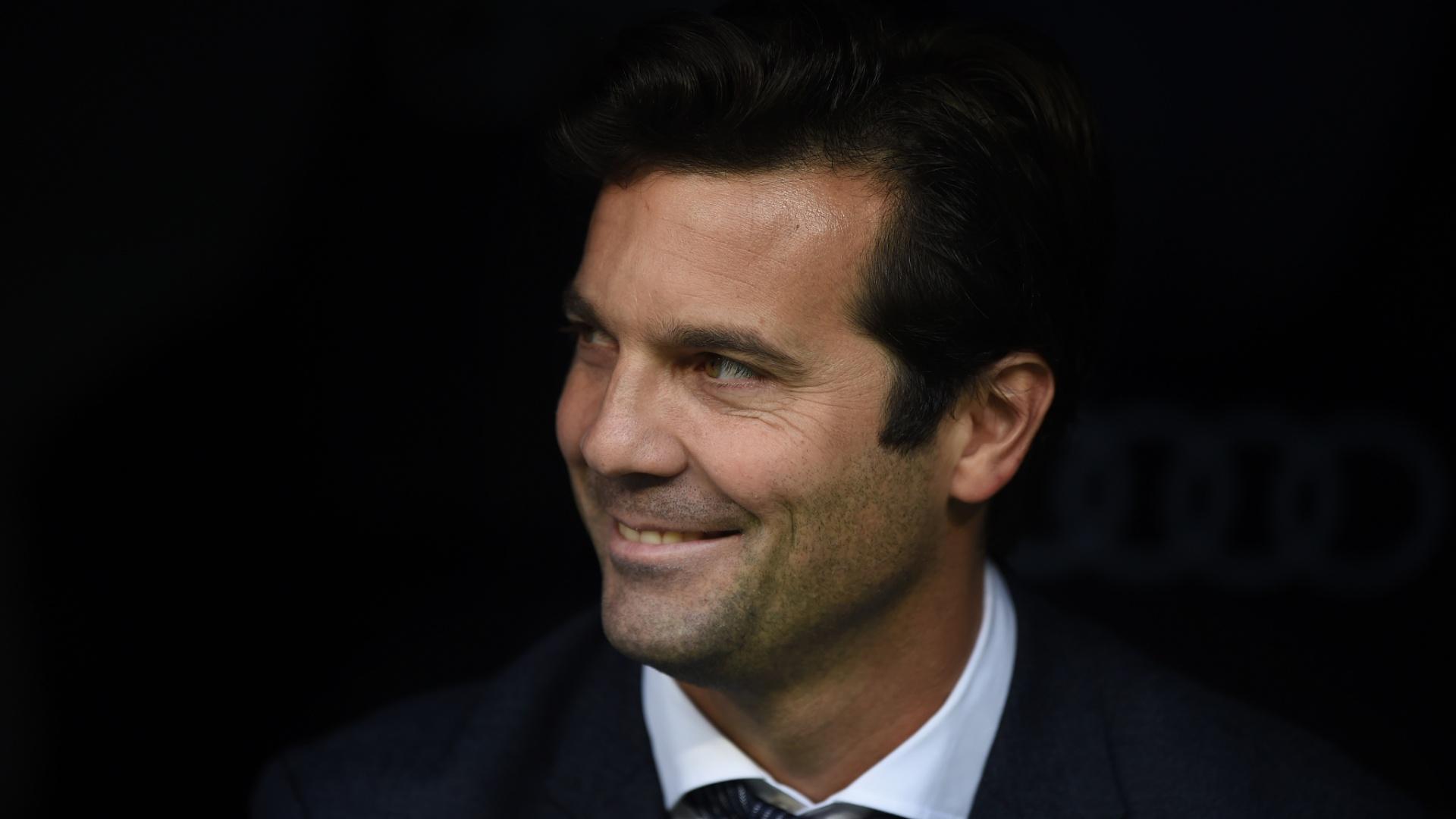 Santiago Solari, técnico interino do Real Madrid