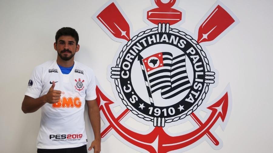 Após assinar contrato até 2023, uruguaio Bruno Méndez fez primeiro treino com bola no Corinthians - Agência Corinthians