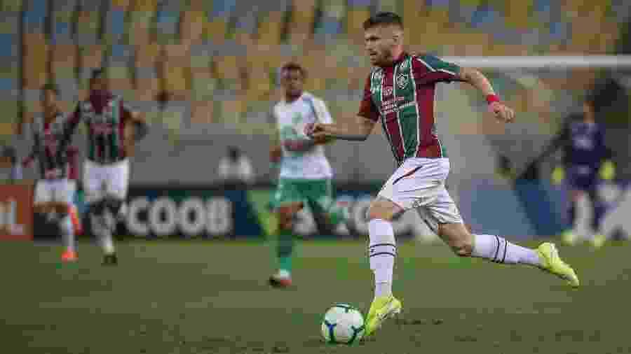 Caio Henrique volta ao Flu após período com a seleção olímpica - LUCAS MERÇON/FLUMINENSE F.C.