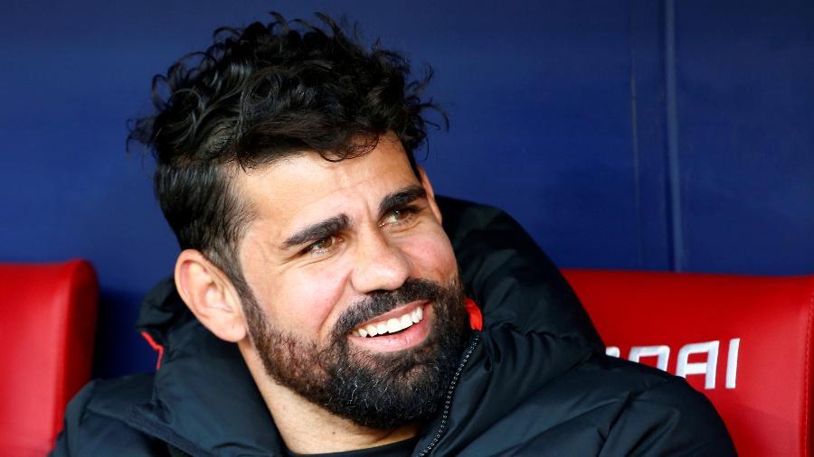 Diego Costa, ex-atacante do Atlético de Madri, é especulado no Palmeiras; clube nega negócio - REUTERS/Stringer