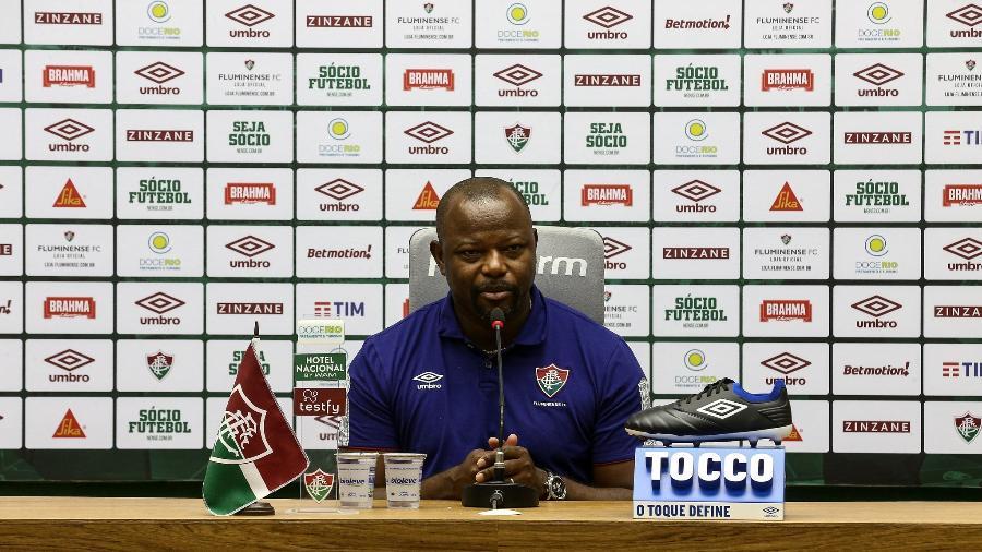 Marcão falou em retribuir Fluminense por tudo e pediu volta de Thiago Silva ao clube - Lucas Merçon/Fluminense FC