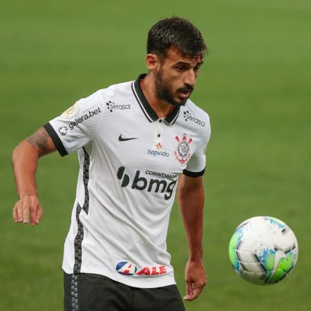 Camacho em ação durante partida do Corinthians no Brasileirão 2020 - Marcello Zambrana/AGIF