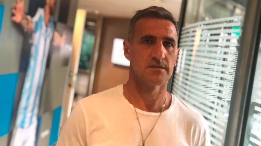 Raul Cascini, ex-volante do Boca e hoje integrante da diretoria do clube  - Acervo pessoal