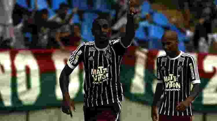Gerson no Fluminense - Nelson Perez/Fluminense FC - Nelson Perez/Fluminense FC