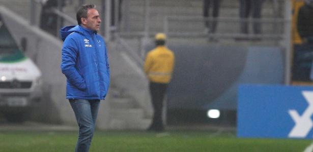 Paulo Bento ficou pouco mais de dois meses no Cruzeiro