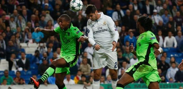 Morata deu a vitória ao Real contra o Sporting na Champions aos 48' do segundo tempo
