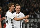 Müller marca dois e Alemanha vence com facilidade a República Tcheca - Wolfang Rattay/Reuters