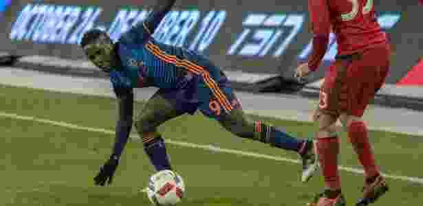 Mendoza em ação pelo New York City - Nick Turchiaro-USA TODAY Sports - Nick Turchiaro-USA TODAY Sports
