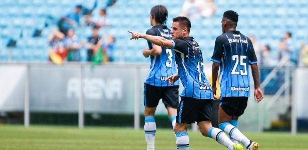 Ramiro fez gol de calcanhar e garantiu vitória contra o Passo Fundo, na Arena