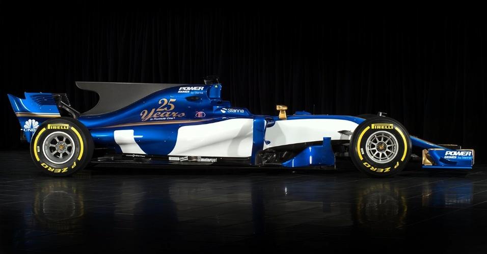 Carro da Sauber para a temporada 2017