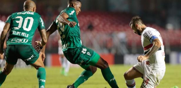 Mina não poderá jogar pelo Palmeiras em três jogos - Marcello Zambrana/AGIF