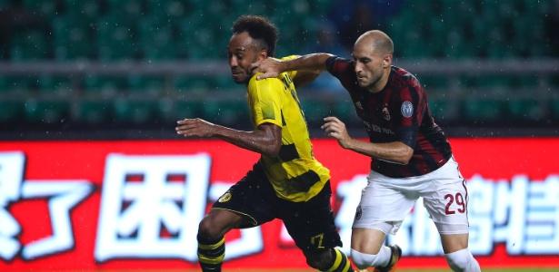 O Borussia Dortmund disse que não está aberto a conversas para vender Aubameyang - Lintao Zhang/Getty Images