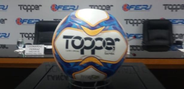 Ferj apresentou nesta quarta-feira (12) a bola oficial do Campeonato Carioca 2019 - Leo Burlá/ UOL Esporte