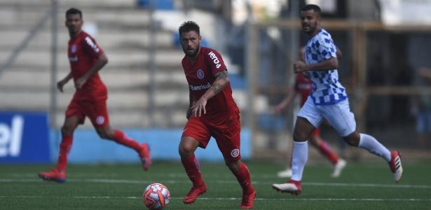 Rafael Sobis perdeu pênalti na partida entre Internacional e Veranópolis - Ricardo Duarte/SC Internacional