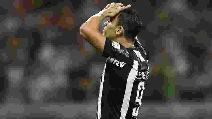 Ricardo Oliveira encerrou jejum de 15 jogos sem marcar, mas Galo decepcionou de novo neste início de ano - Douglas Magno/AFP