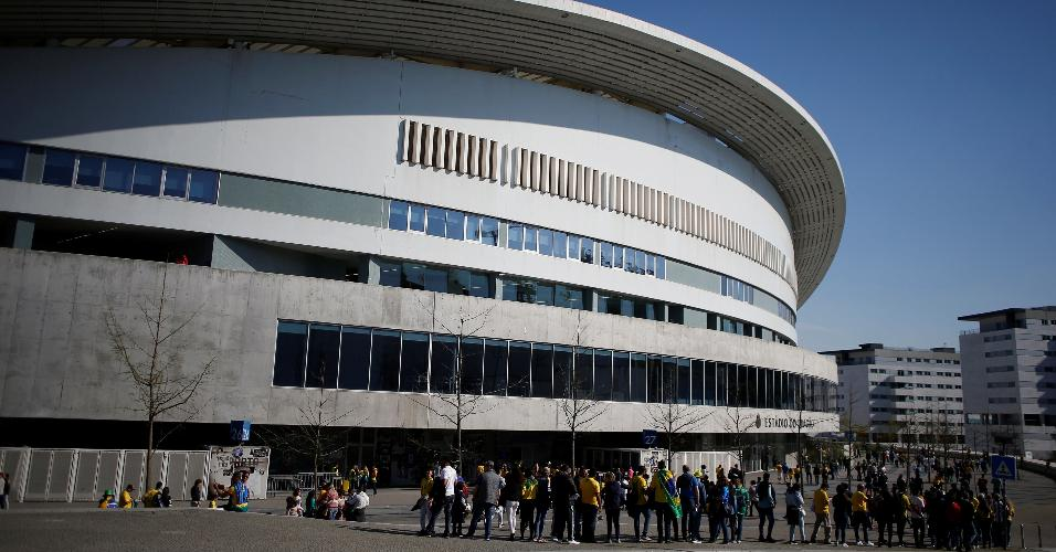Estádio do Dragão receberá o amistoso entre Brasil e Panamá