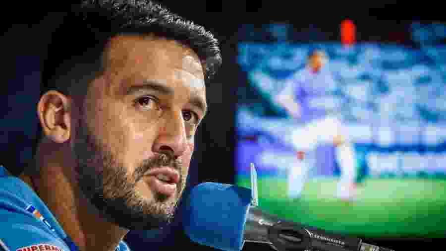 Edilson, ex-lateral do Cruzeiro lamenta rescisão com a equipe  - Vinnicius Silva/Cruzeiro