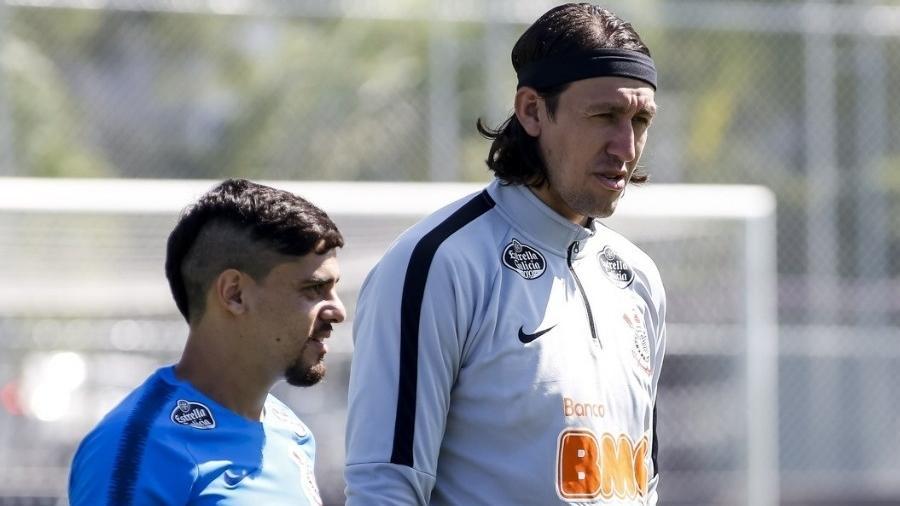 Cássio e Fágner são dois jogadores do Corinthians que contraíram covid-19 - Rodrigo Gazzanel/Ag. Corinthians