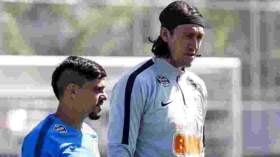 Cássio e Fágner estarão à disposição do técnico Dyego Coelho  - Rodrigo Gazzanel/Ag. Corinthians