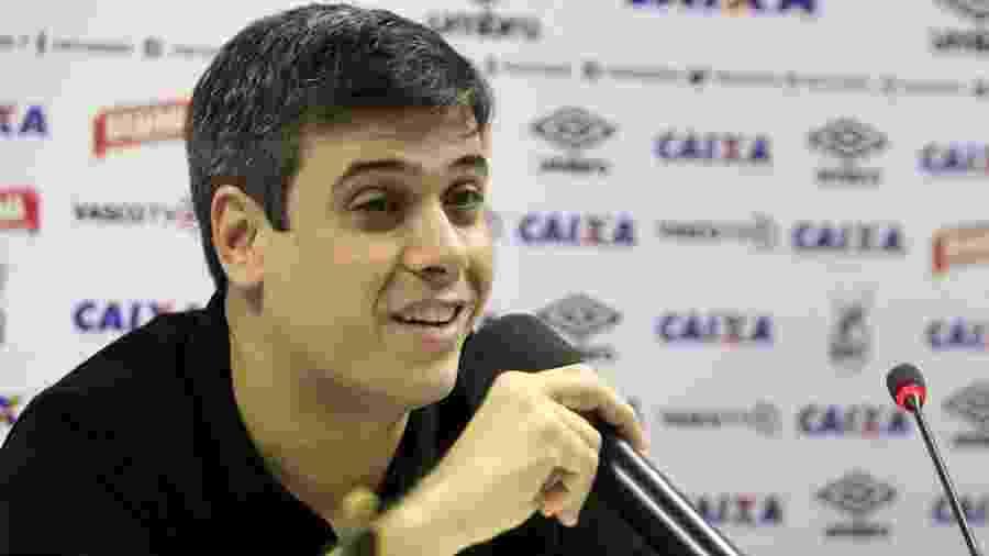 Euriquinho, filho de Eurico Miranda, bateu-boca com conselheiro Otto Carvalho durante reunião de conselho  - Paulo Fernandes/Vasco.com.br