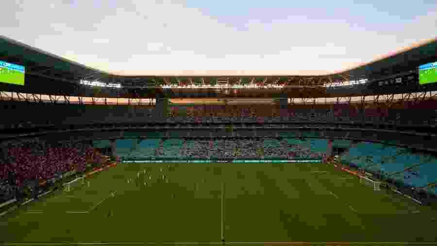 Expectativa é de torcida de cinco nacionalidades diferentes na Arena - Diego Vara/Reuters