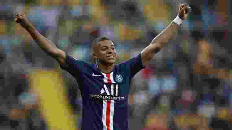 Mbappé é o melhor jogador jovem (categoria de até 21 anos) do FIFA 20 - Ronny Hartmann / AFP