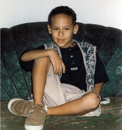 Foto de Neymar criança foi publicada no Instagram