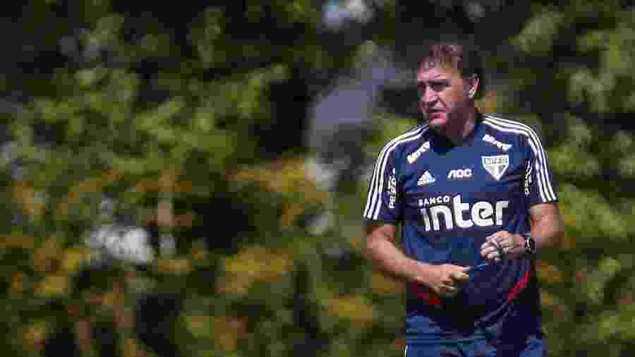 Técnico Cuca comanda treino do São Paulo no CT da Barra Funda - Marcello Zambrana/AGIF