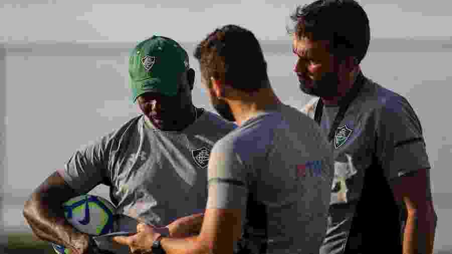 Marcão ainda não conseguiu repetir escalação no Fluminense - Lucas Merçon/Fluminense FC