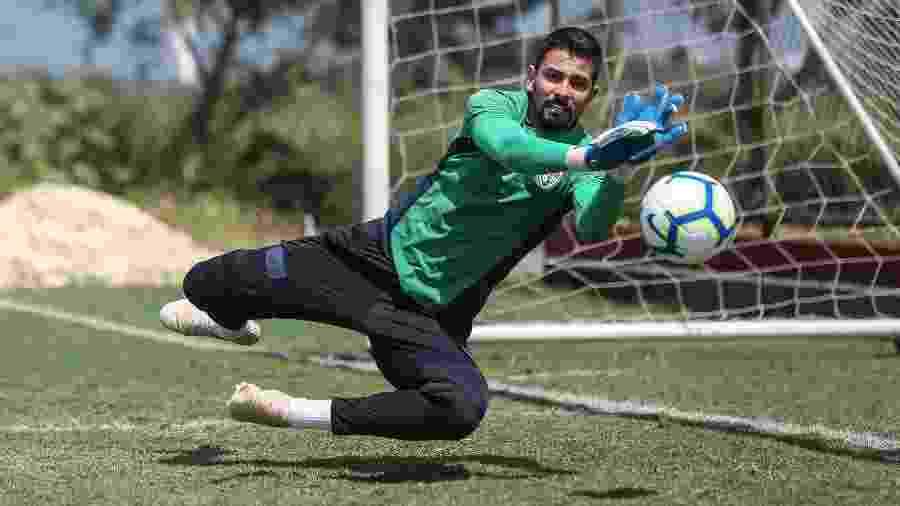 Marcos Felipe saiu na frente em disputa para ser o substituto de Muriel no gol do Fluminense - Lucas Merçon/Fluminense FC