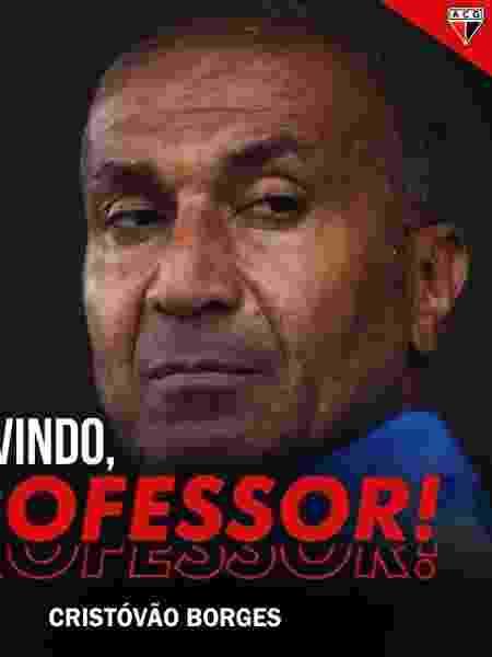 Cristóv?o Borges é o novo técnico do Atlético-GO - Divulga??o