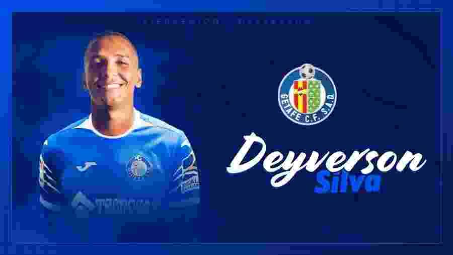 Deyverson é anunciado no Getafe - Reprodução