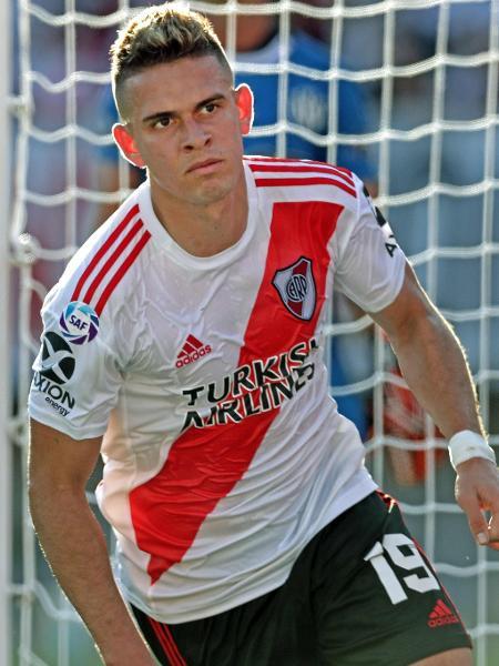 Rafael Borré, atacante do River Plate - Alejandro Pagni/AFP