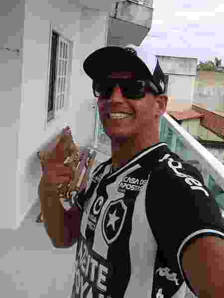 Sérgio Fernando Pacheco Cavalcante, torcedor do Botafogo, volta ao clássico com o Flamengo - Arquivo Pessoal