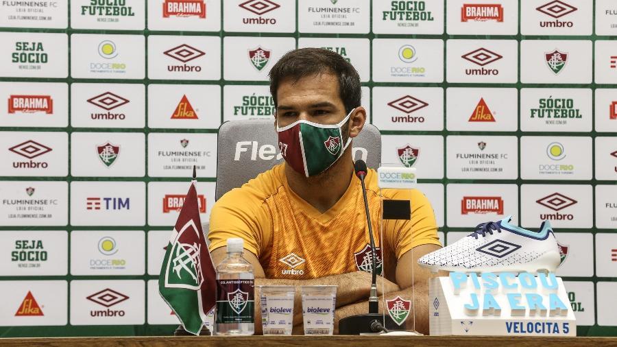 Muriel elogiou Marcelo e revelou forte cobrança a si mesmo pelo momento do Fluminense - Lucas Merçon/Fluminense FC