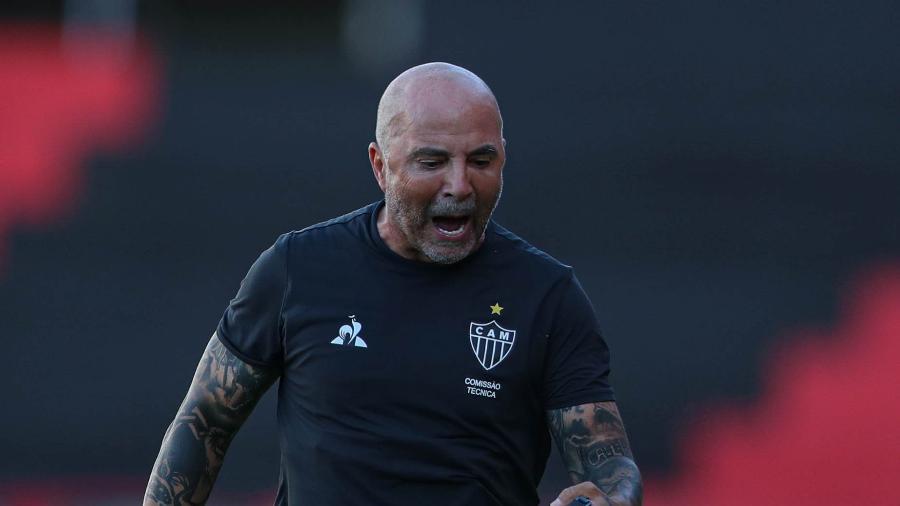 Sampaoli deve ser anunciado como técnico do olympique de Marselha em março - Pedro Souza/Atlético-MG