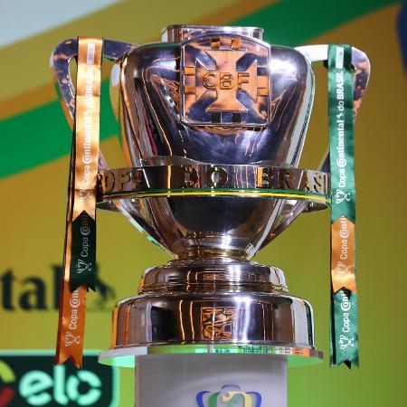 Troféu da Copa do Brasil; competição terá clássico estadual - Lucas Figueiredo/CBF