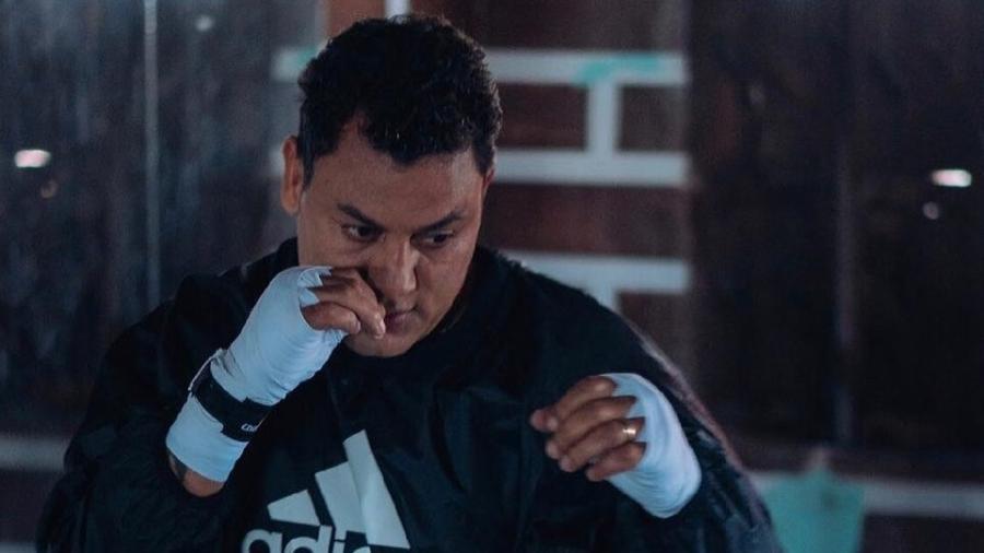 Ex-pugilista de 45 anos lamentou baixo valor ganho em luta disputada contra o russo AnatolyAlexandrov em 1999 - Reprodução/Instagram
