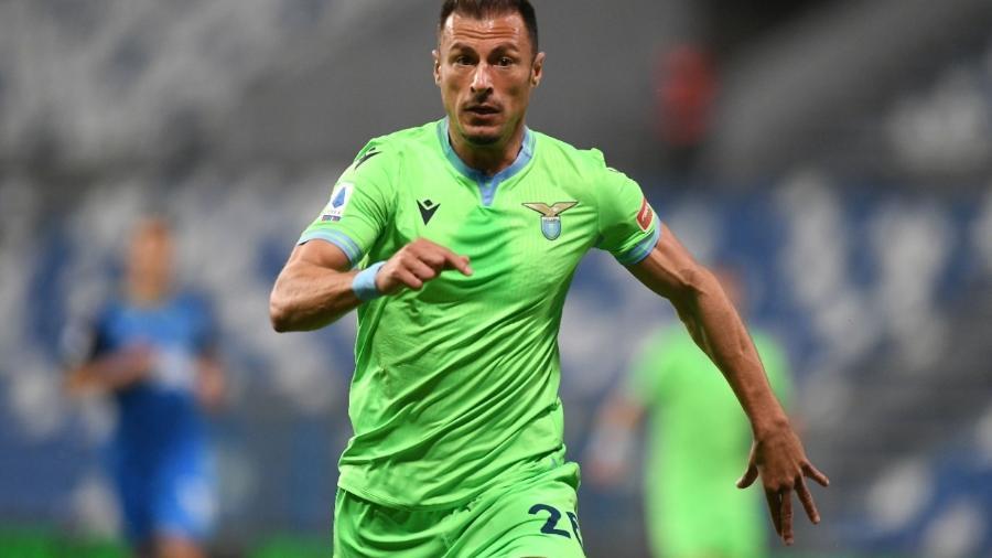A Lazio usou um uniforme verde na última temporada - Alessandro Sabattini/Getty Images