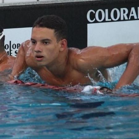 O nadador Gui Caribé é promessa da nova geração - Reprodução/Instagram