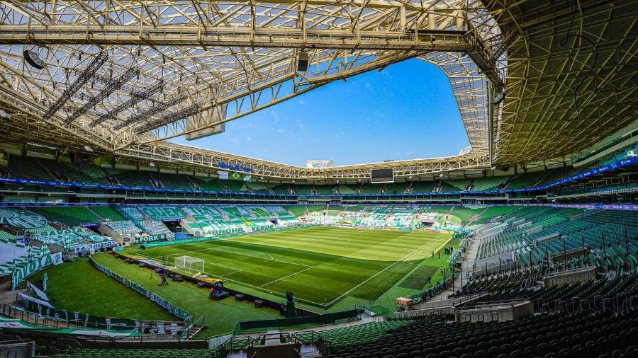 Palmeiras não terá torcida no Allianz Parque contra o Atlético-MG, hoje, pela semifinal da Libertadores - Flamengo