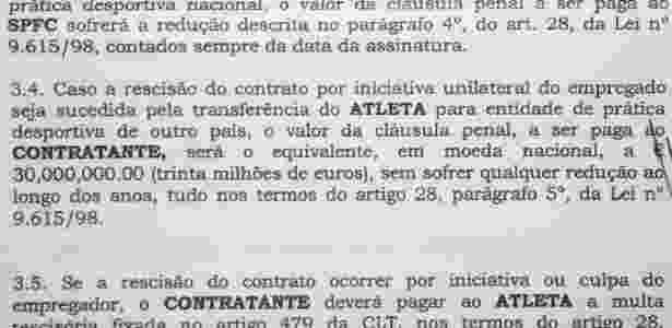 Multa de Hugo era de 30 milhões de euros para o futebol exterior - Reprodução - Reprodução