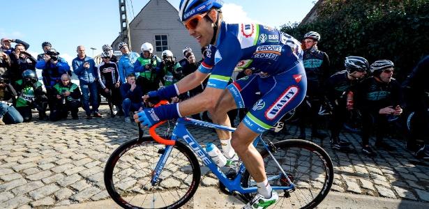 O belga Antoine Demoitié morreu na frança após acidente em estrada - AFP PHOTO/ Belga/DIRK WAEM/Belgium OUT