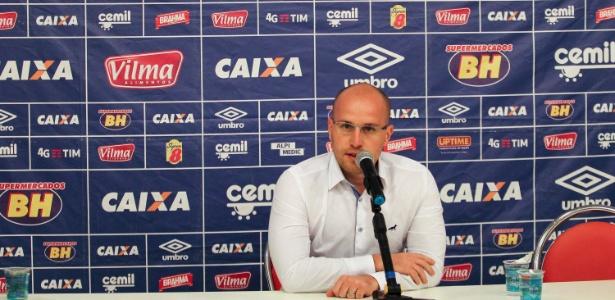 Thiago Scuro se despede do Cruzeiro depois de pouco mais de um ano à frente da diretoria de futebol - Paulo Sérgio/Lightpress
