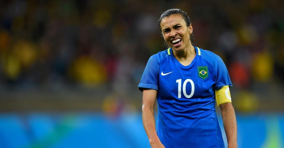 Marta lamenta chances perdidas e Brasil vai pra prorrogação com a Austrália