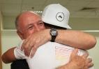 Felipão ganha abraço apertado em reencontro com Cristiano Ronaldo - Reprodução Twitter