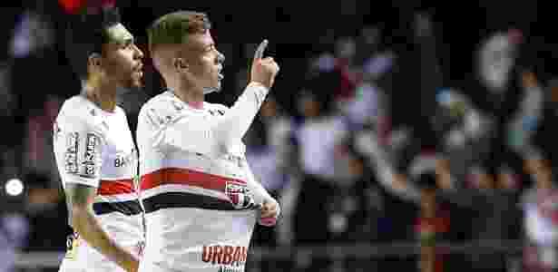 Lucas Fernandes marcou o gol do empate em 1 a 1 com o Grêmio - Marcello Zambrana/AGIF