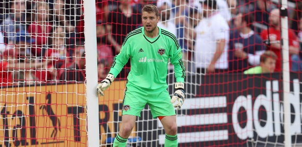 Tyler Deric, goleiro do Houston Dynamo