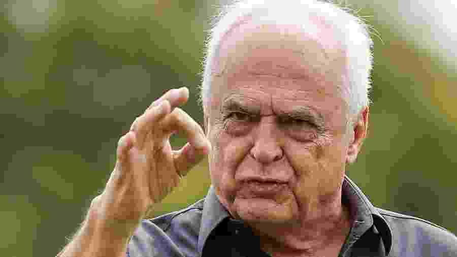 Criticado pela torcida, Leco, presidente do São Paulo, foi parar nos assuntos mais comentados do Twitter - Marcello Zambrana/AGIF