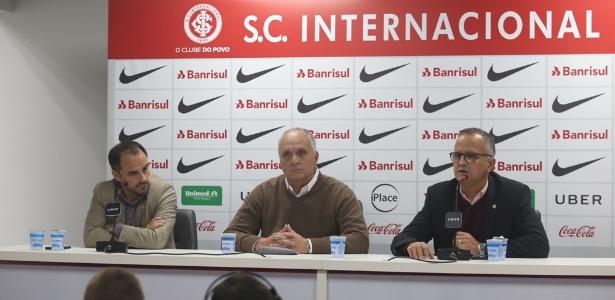 Presidente do Inter, Marcelo Medeiros, é candidato a reeleição neste ano - Divulgação/Internacional